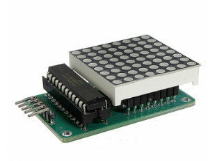 MAX7219 Dot Matrix Module DHZ Kit