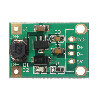 1V-5V naar 5V step-up module