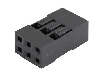 Dupont connector 2x3