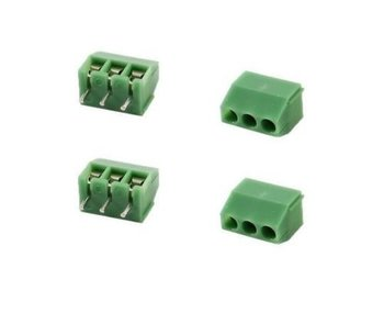 3.5 mm Connector met 3 schroefterminals
