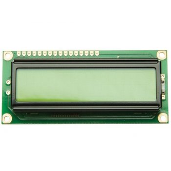 16 x 2 LCD Display Groen