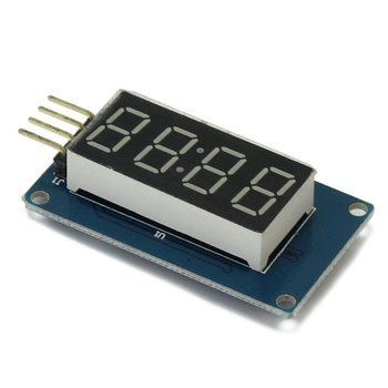 4-Digits led display klok