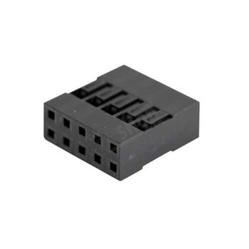 Dupont connector 2x4