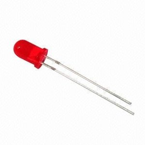 Led rood diffuus 5mm