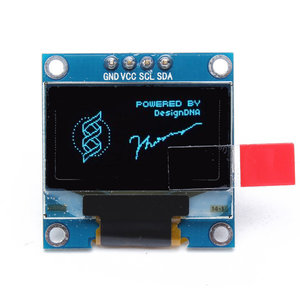 "0.96"" Oled display blauw"