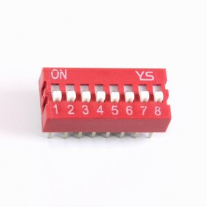 8 polige dip switch