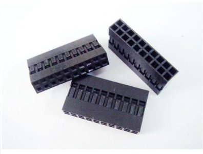 Dupont connector 2x10-polig