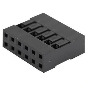 Dupont connector 2x6-polig