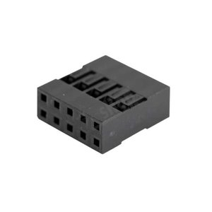 Dupont connector 2 x 5-polig