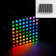RGB 8 x 8 led matrix in 5mm leds